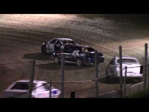 Old Bradford Speedway Kids Mini Stock Feature 8-6-17