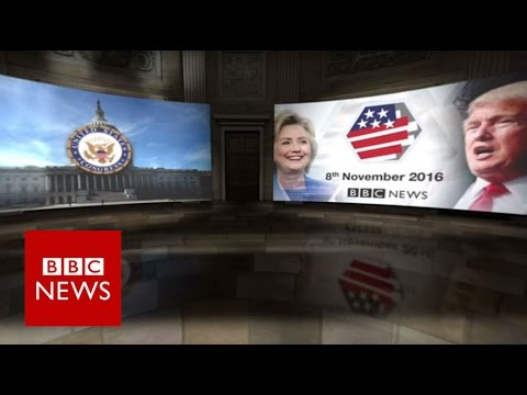 How US voters will elect the next President of the US (360 video) - BBC News