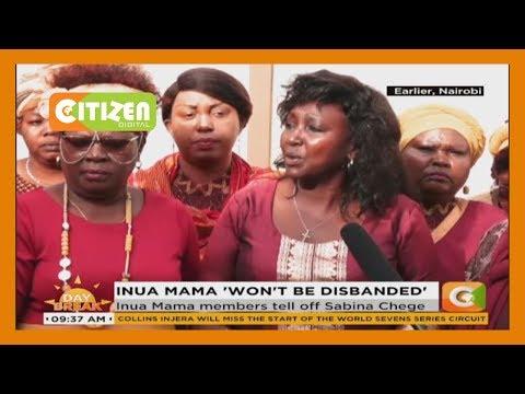 Inua Mama Members Tell Off Murang'a Women Rep, Sabina Chege