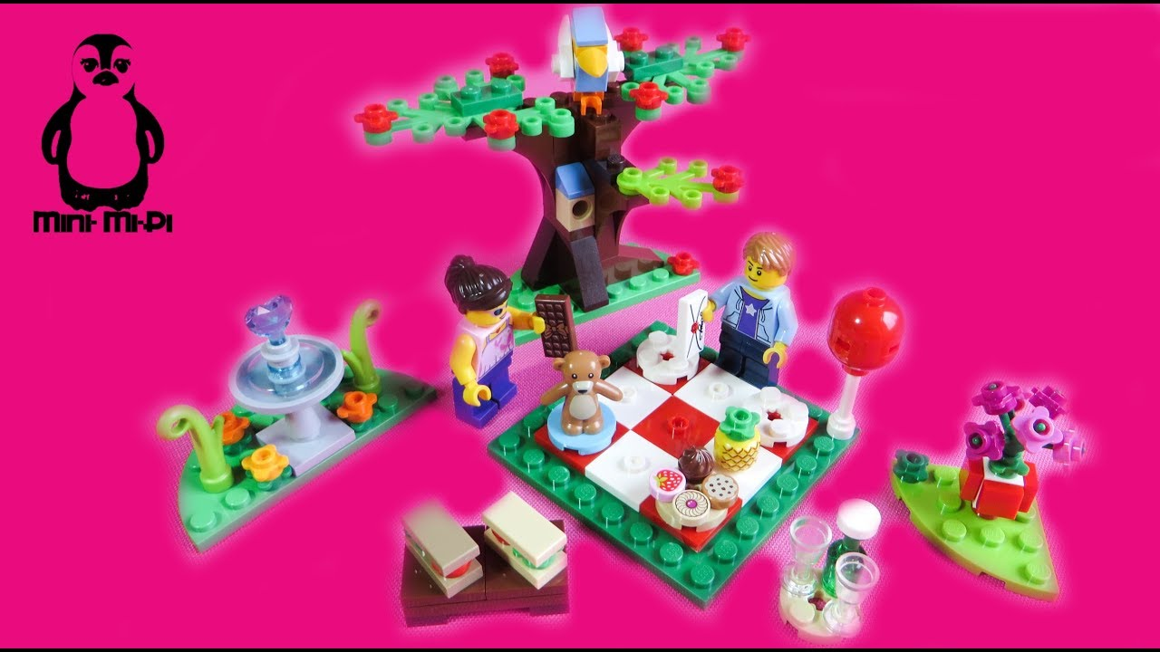 NEU LEGO 40236 Romantisches Valentinspicknick Picknick