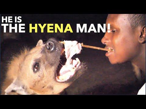 He Is The Hyena Man!