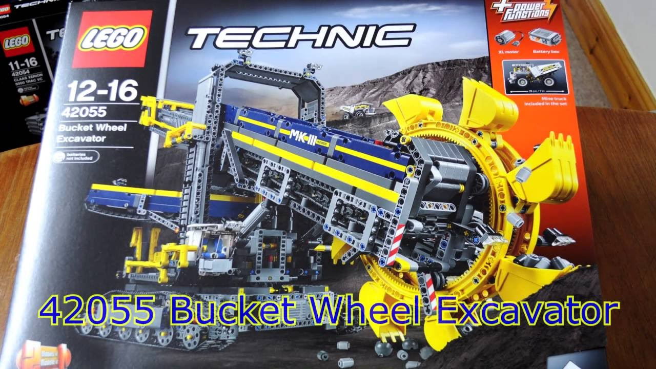 technic lego 42055 bucket wheel excavator youtube. Black Bedroom Furniture Sets. Home Design Ideas