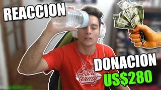 REACCION DONACION $280 DOLARES + VUELVO A URUGUAY thumbnail