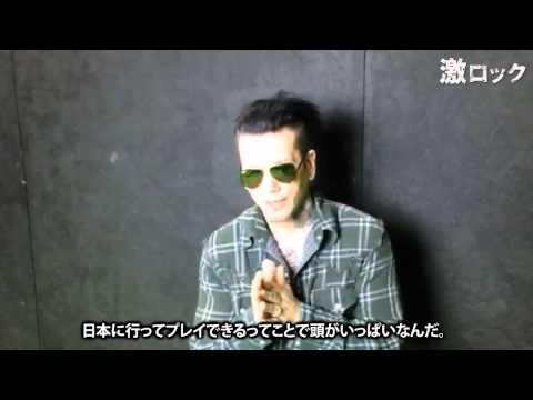 "SIXX:A.M. ""VAMPARK FEST""-激ロック 動画メッセージ"
