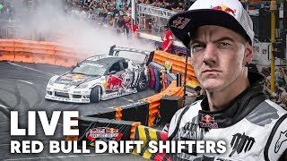LIVE Behind-The-Scenes at Red Bull Drift Shifters