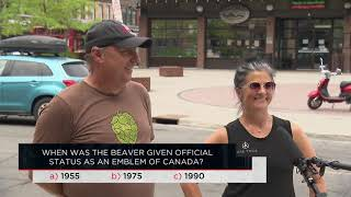 When was the beaver given official status as an emblem of Canada? | Outburst