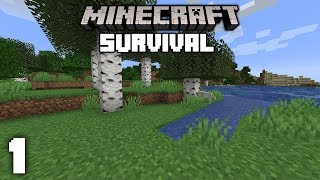Minecraft 1.14 Survival Let's Play - A New Beginning!   Ep 1