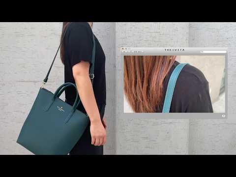 더에비타 클래식 디자인 토트 크로스백 여성가방 애나
