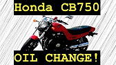 Honda cb750 10w40 synthetic oil change including kn oil filter 1053 sciox Gallery