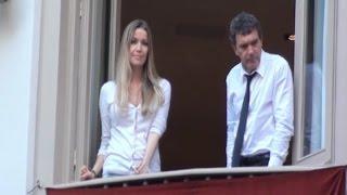 Antonio Banderas y su novia de vacaciones en Málaga