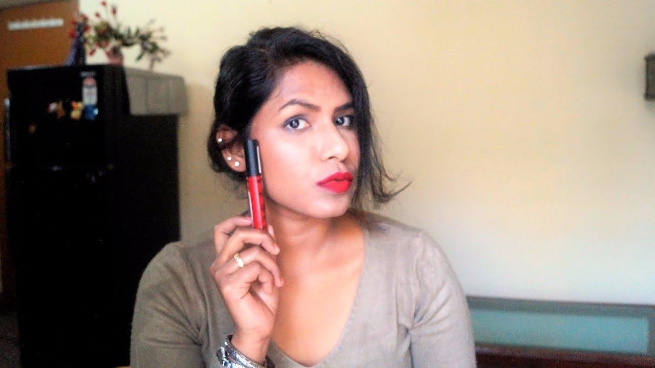 Deborah Milano Fluid Velvet Matte Lipstick Review Youtube