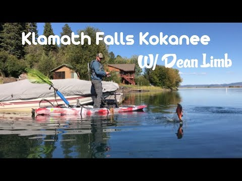 Kayak Fishing For Kokanee: Klamath Falls OR.
