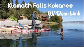 Kayak Fishing For Kokanee: Klamath Falls OR.