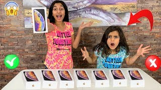 Don't Choose the Wrong IPHONE XS Slime Challenge!