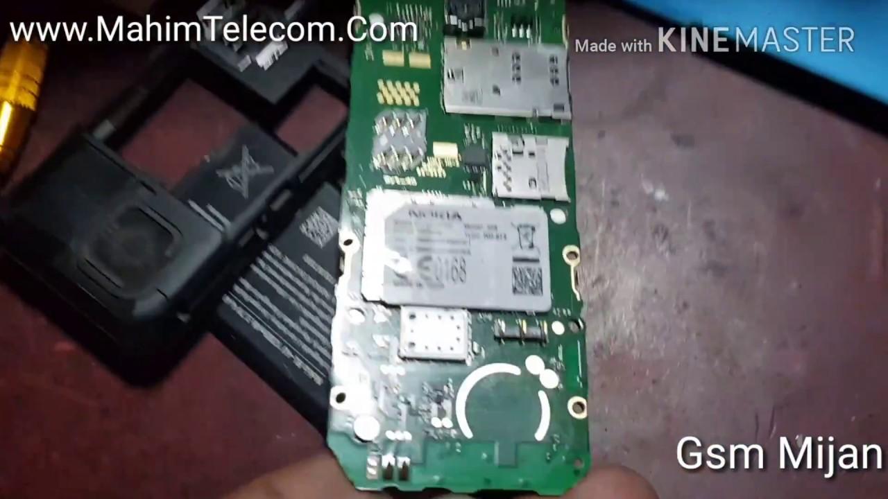 Nokia 206 0 Key Jumper Solution Keypad Not Working