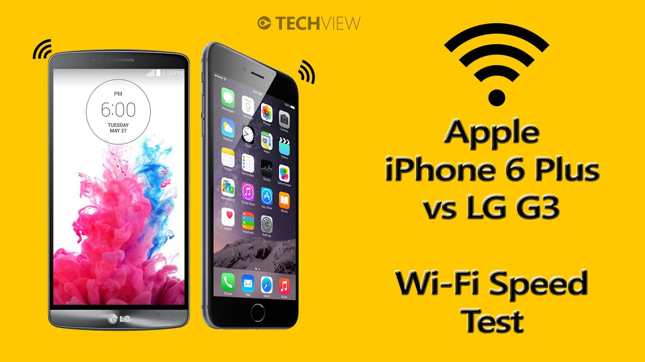 speed test iphone iphone 6 plus vs lg g3 wifi speed test 13018
