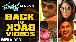 Download Hindi Video Songs - Majnu Video Teasers Back To Back || Nani, Anu Immanuel, Gopi Sunder || Telugu Songs 2016