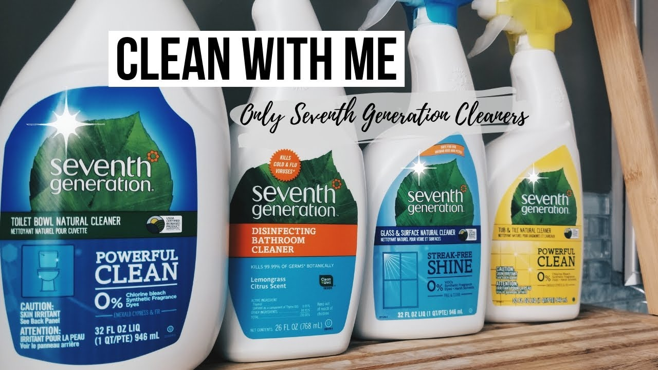 using only mrs meyers cleaners