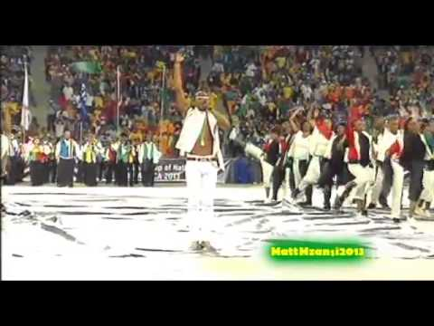 Dbanj's Electrifying Performance At The AFCON 2013 Closing Ceremony