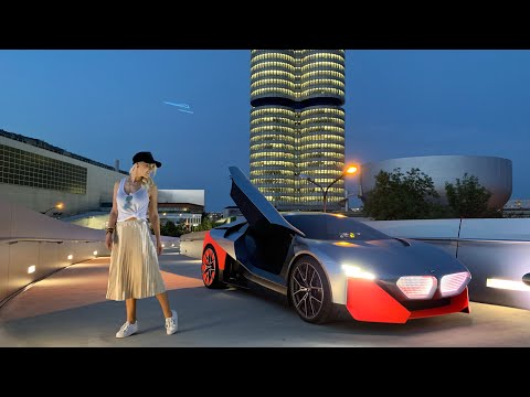 World's First Drive - New BMW Vision M Next!