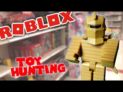 #ROBLOXTOYS HUNTING/ Shopping For New #roblox Toys @ WalMart & Target & Cardboard Crusader Unboxing