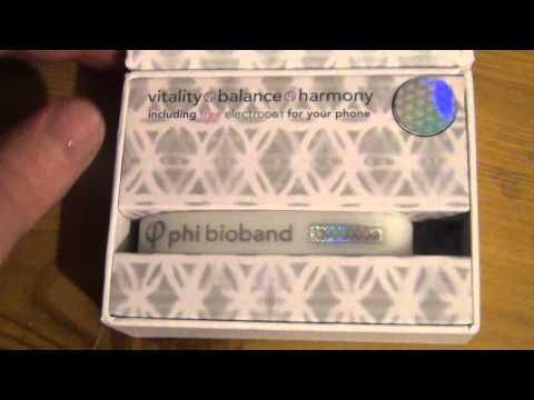 Phi-Harmonics Bio Band Personal Energy Field Harmoniser close look