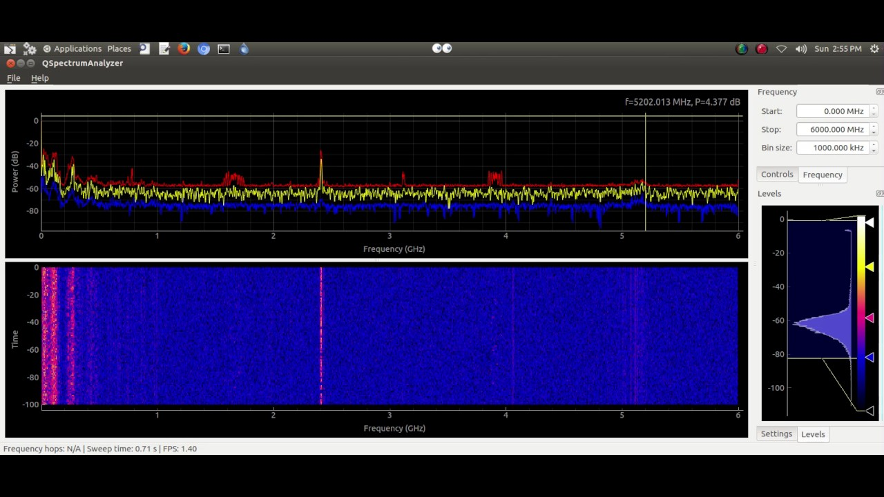 hackrf_sweep 1mhz-6ghz frequency scan