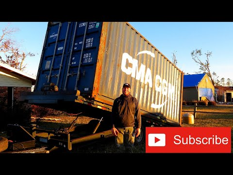 I Delivered Shipping Containers For A Day | conex box | panama city trip