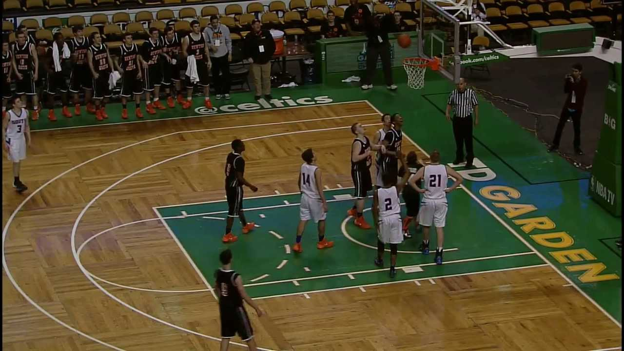 Brendan Durkin Sinks Shot at TD Garden - YouTube