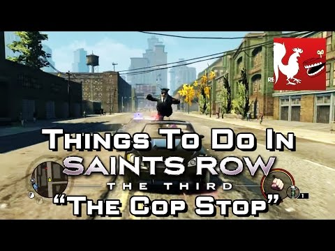 Things to Do In Saint's Row 3 - The Cop Stop | Rooster Teeth