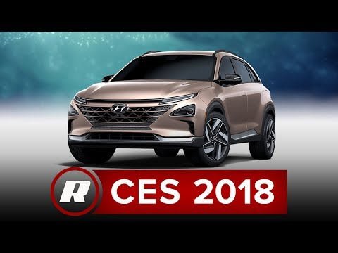 CES 2018: Hyundai unveils Nexo, a hydrogen fuel cell SUV
