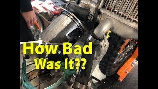 Honda CR250R 2 Stroke Top End Tear Down!! How Bad Was It?