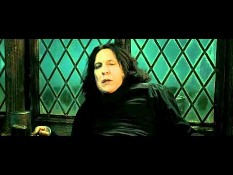 Harry Potter and the Deathly Hallows - Part 2 (Snape's Death Scene - HD)