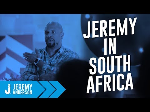 Jeremy Anderson | RESET Youth Conference Cape Town, South Africa