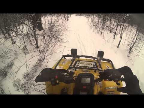 Покатушка на Stels ATV 400 Hunter