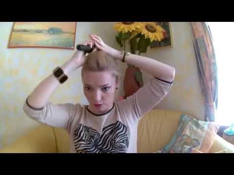 Быстрая прическа на тонкие волосы на каждый день!