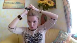 видео Прически для редких волос