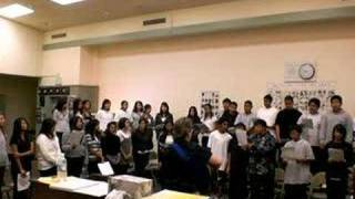 Swimming to the other side-MMS Advance Choir 08