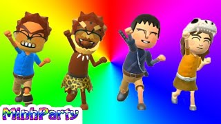 Wii Party U Mii Fashion Plaza Bowser vs Dunbar Vs Marit (2 Player) @MINH PARTY U