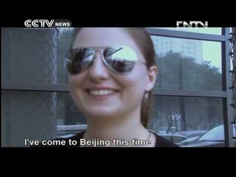 Russian girl in Beijing