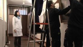 Making Off del montaje expositivo del Museo del Greco