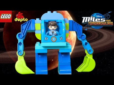 LEGO Duplo Miles From Tomorrowland Miles' Exo-Flex Suit from LEGO ...