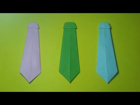 How to make a paper tie? (Very Easy)