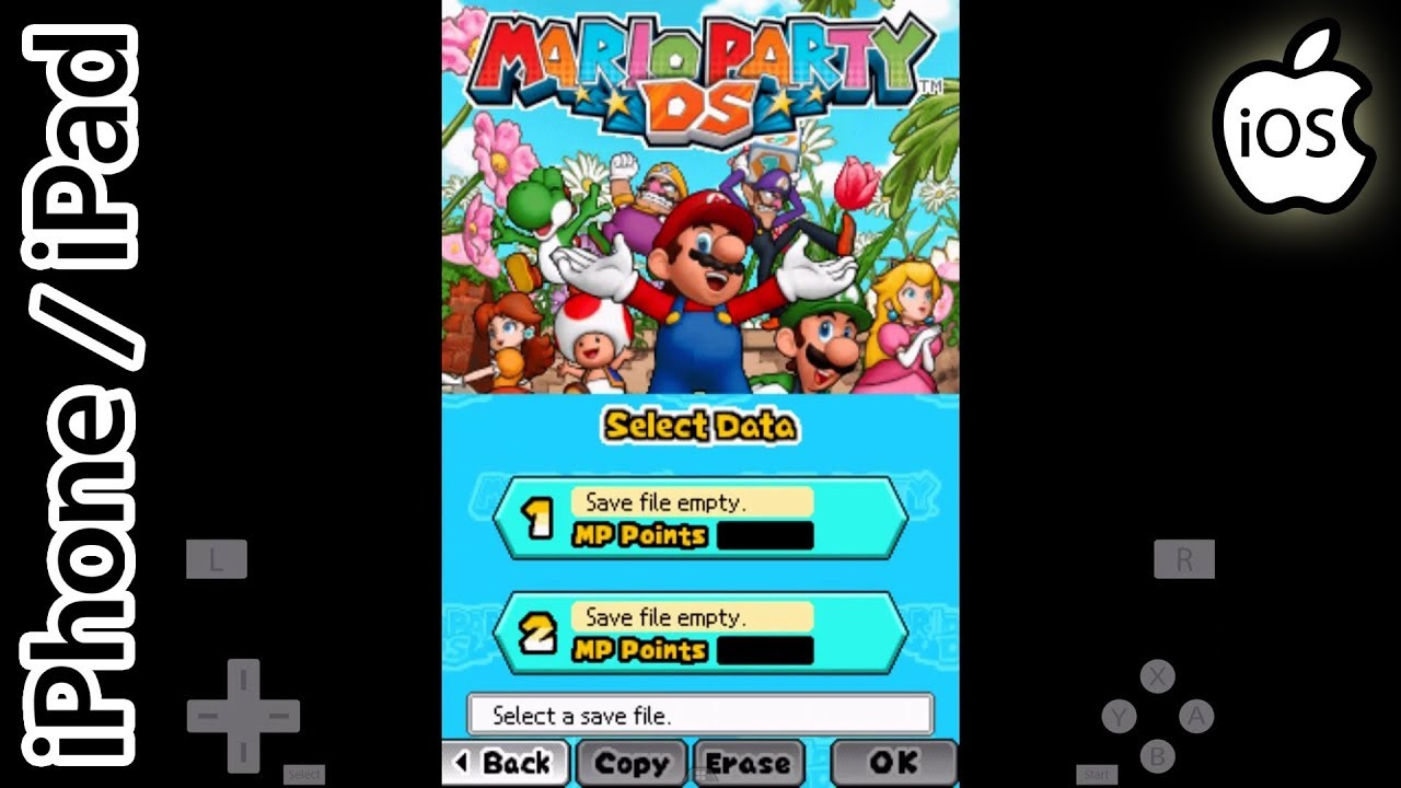 Mario party 6 save file | Using  sav,  gci and  gcs with