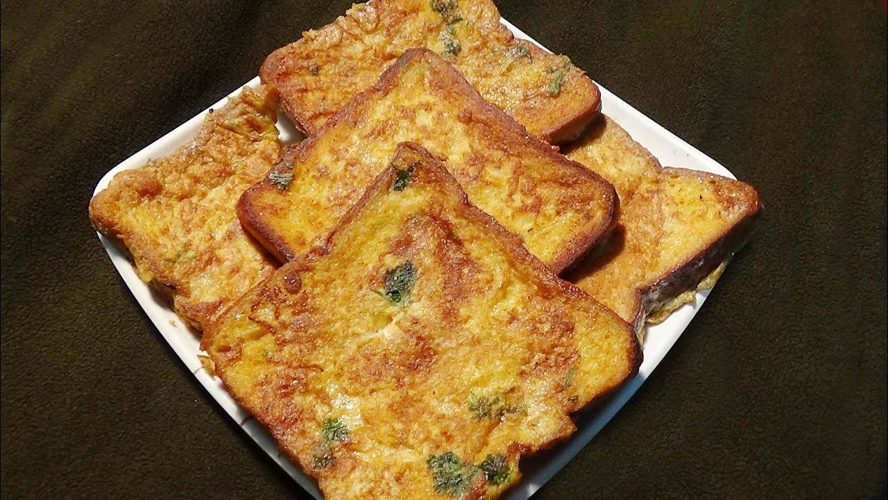 Ande Wali Bread Eggy Bread
