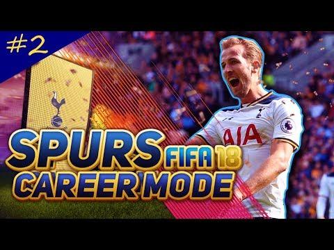 FIFA 18 TOTTENHAM CAREER MODE!! CHELSEA AT HOME!!! - EPISODE #2