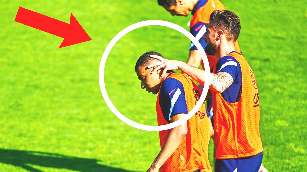 This is WHAt HAPPENED between MBAPPE and GIROUD at the training!? BIG TENSION in FRANCE camp!