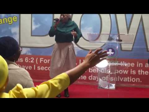 Olori Olajumoke Bamidele OJB ministration at El Shaddai parish of RCCG, Virginia, Ireland,
