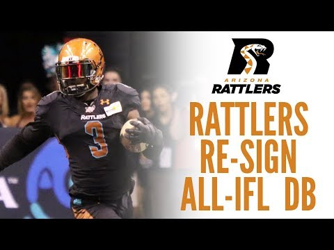 Rattlers Re-Sign All-IFL DB Allen Chapman