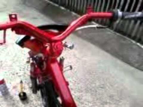 RUSI MOTORCYCLE MODIFIED SKELETON 3